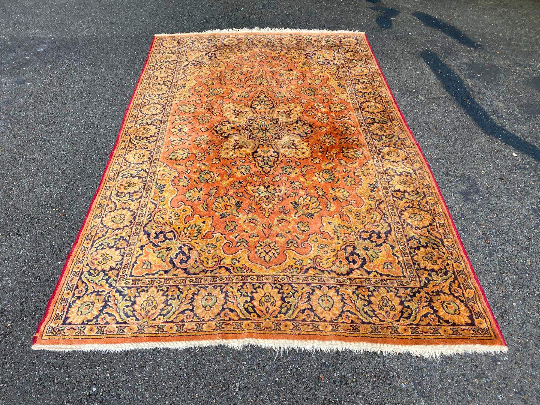 Lot # 310 - Beautiful Vintage Wool Persian Rug  (main image)