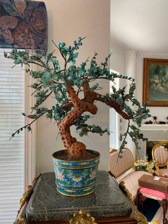 """Lot # 45 - Jade Bonsai Tree - 21"""" Tall  (main image)"""