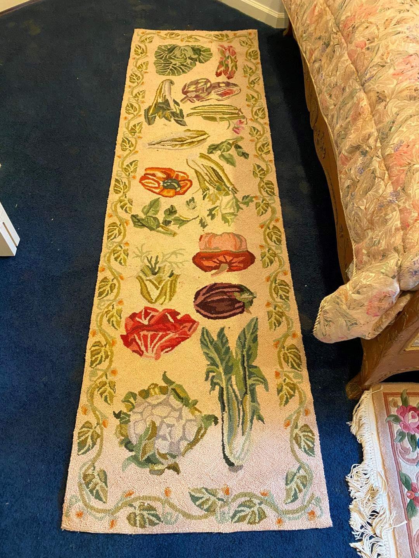 "Lot # 117 - Wool ""Country Heritage"" Rug Runner (main image)"