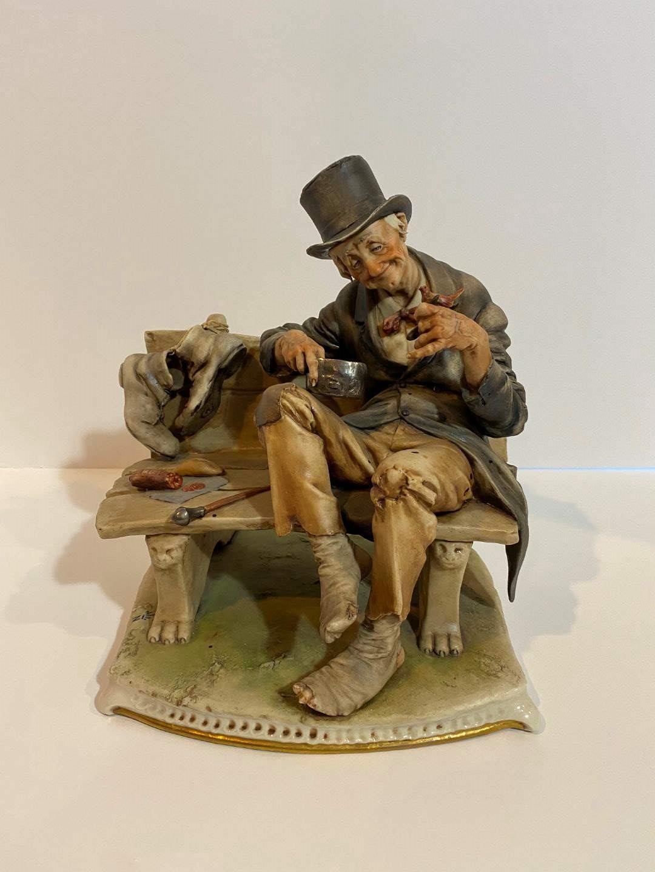 Lot # 193 - Capodimonte La Medea Porcelain Figurine (main image)
