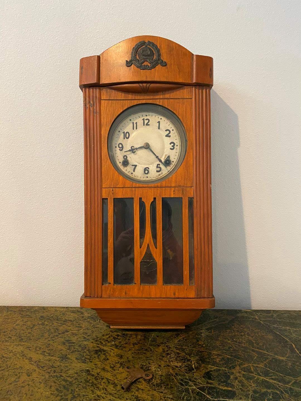 Lot # 277 - Antique Wall Clock (main image)