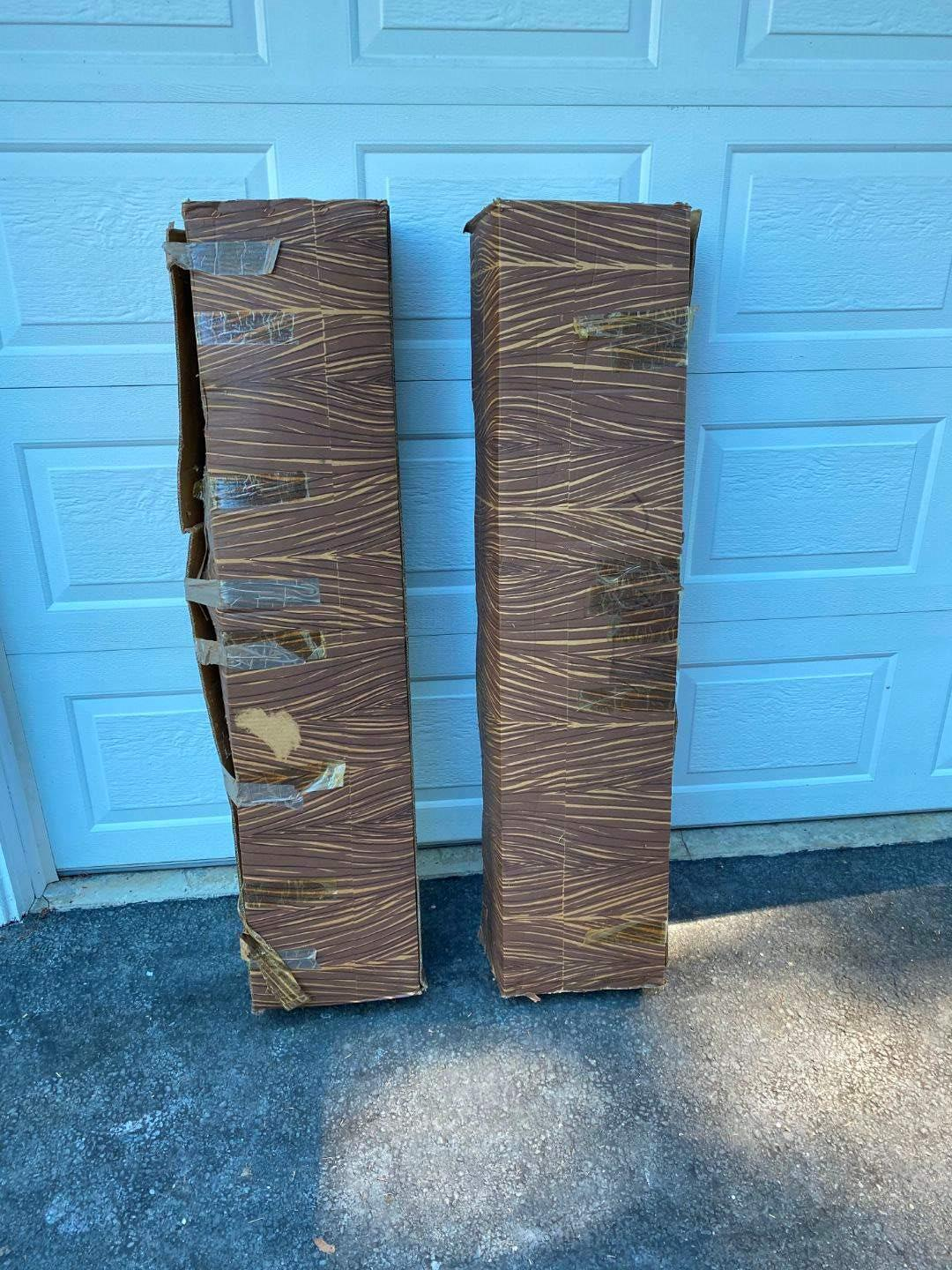 Lot # 347 - Two 7.5' Artificial Christmas Trees  (main image)