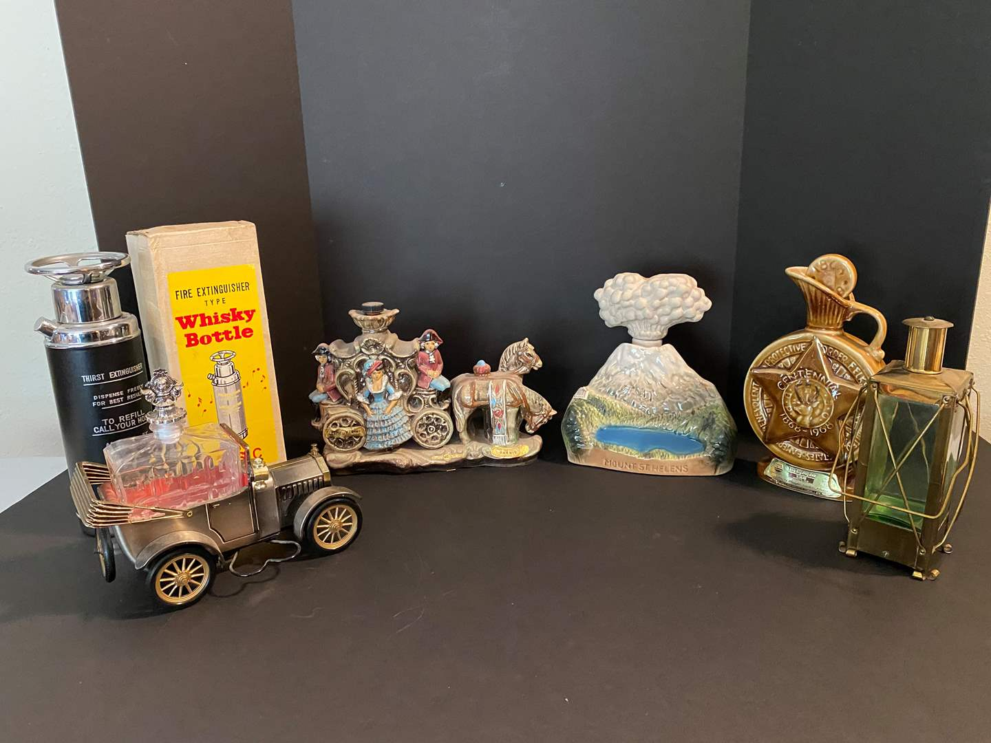 Lot # 38 - Collection of Vintage Decanters  (main image)