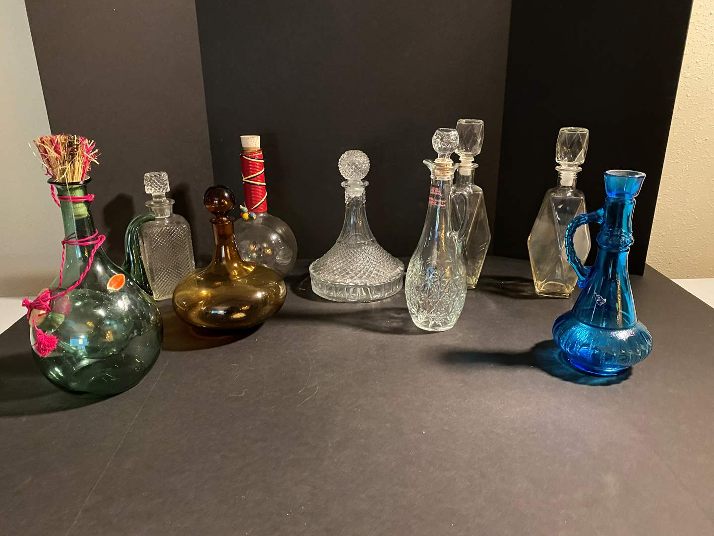 Lot # 39 - Glass Decanters (main image)