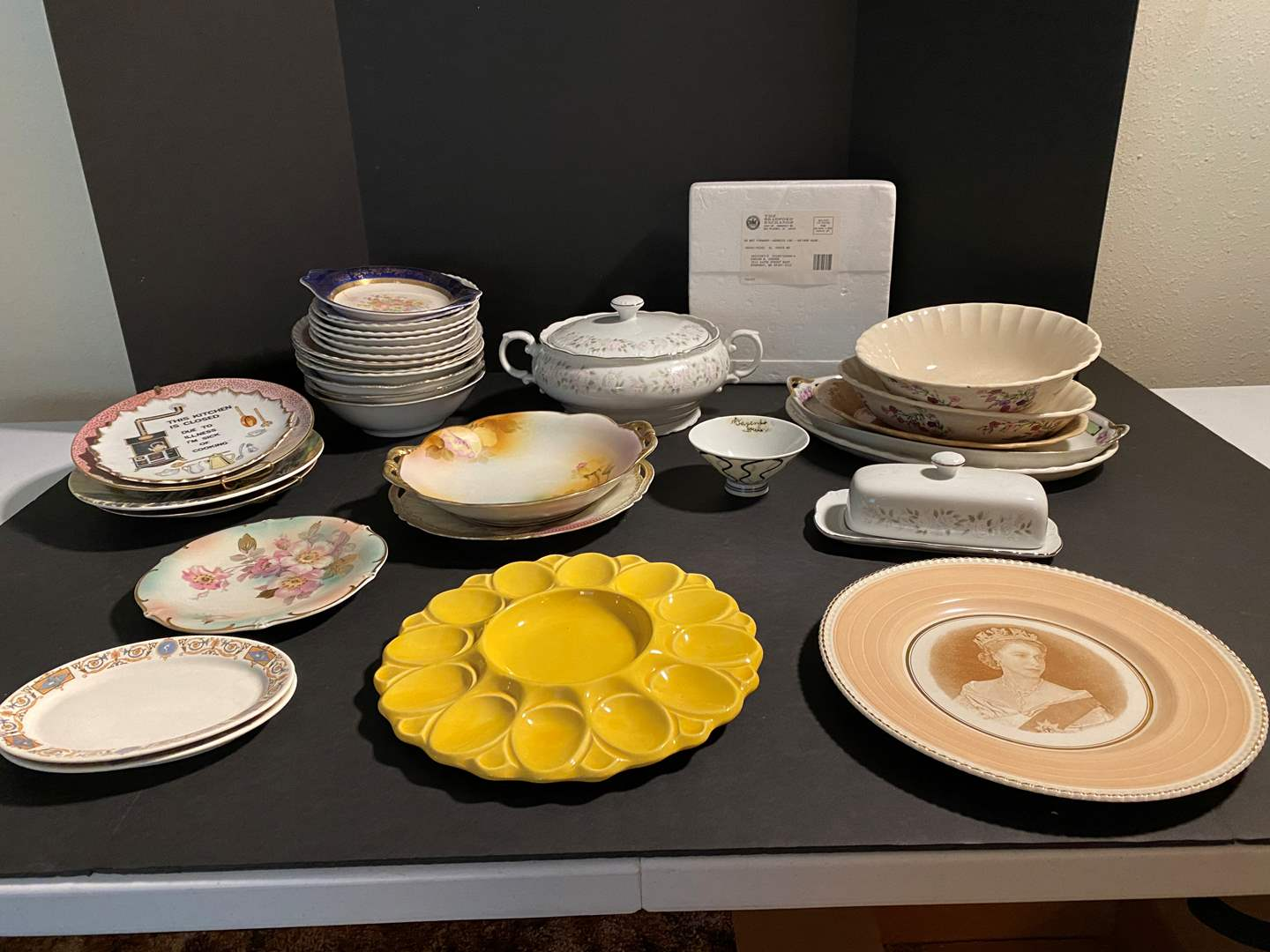 Lot # 122 - Misc. Pieces of China & Collector Plates (main image)
