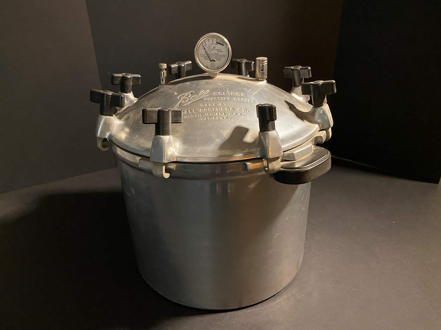Lot # 160 - Large Vintage Ball Eclipse Pressure Cooker (main image)