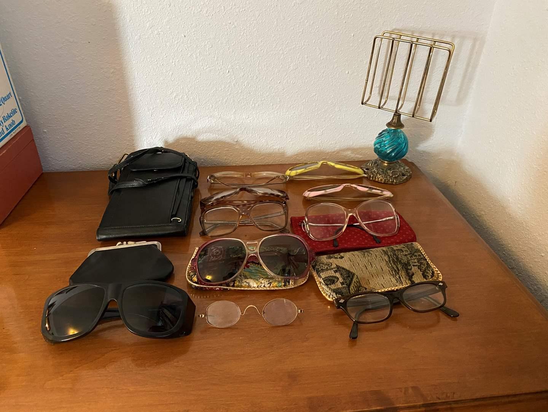 Lot # 188 - Vintage Sunglasses, Glasses, Coin Purse & More.. (main image)