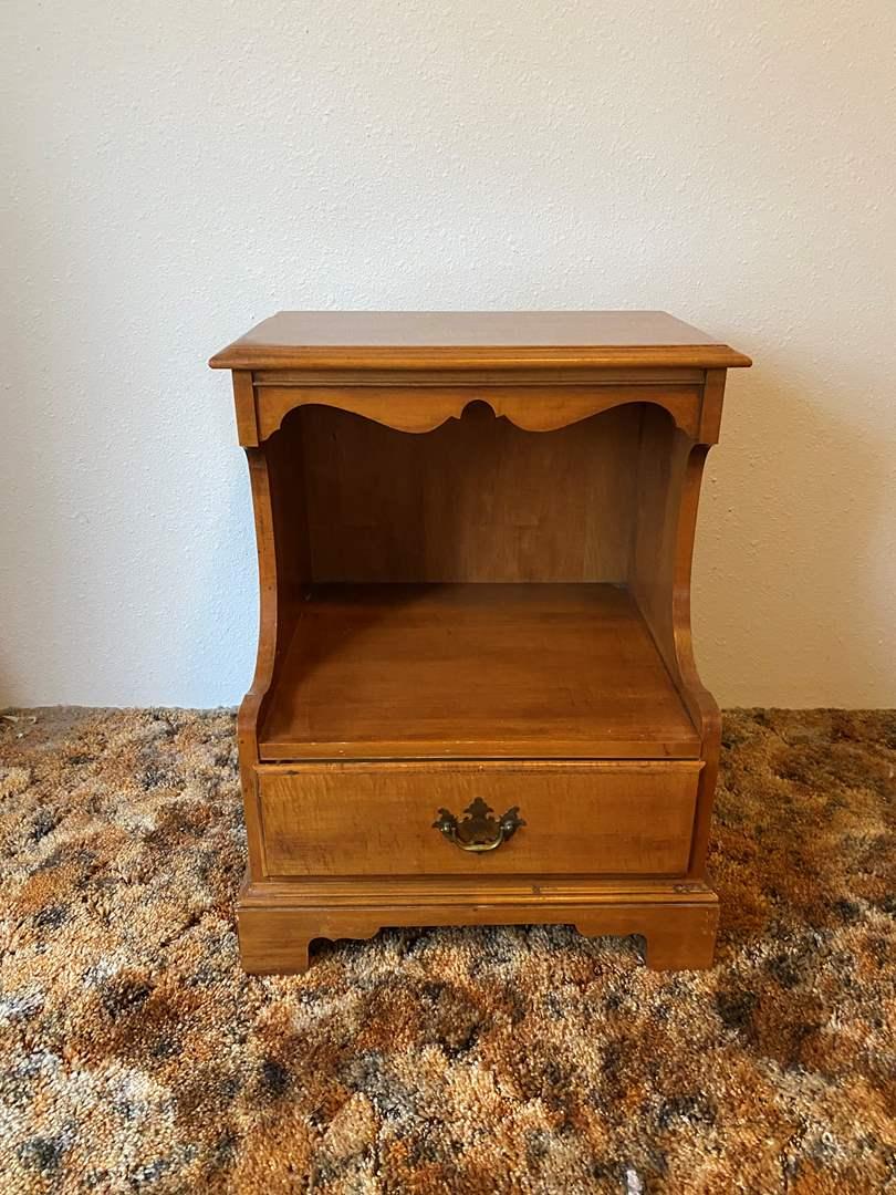 Lot # 201 - Vintage Side Table  (main image)