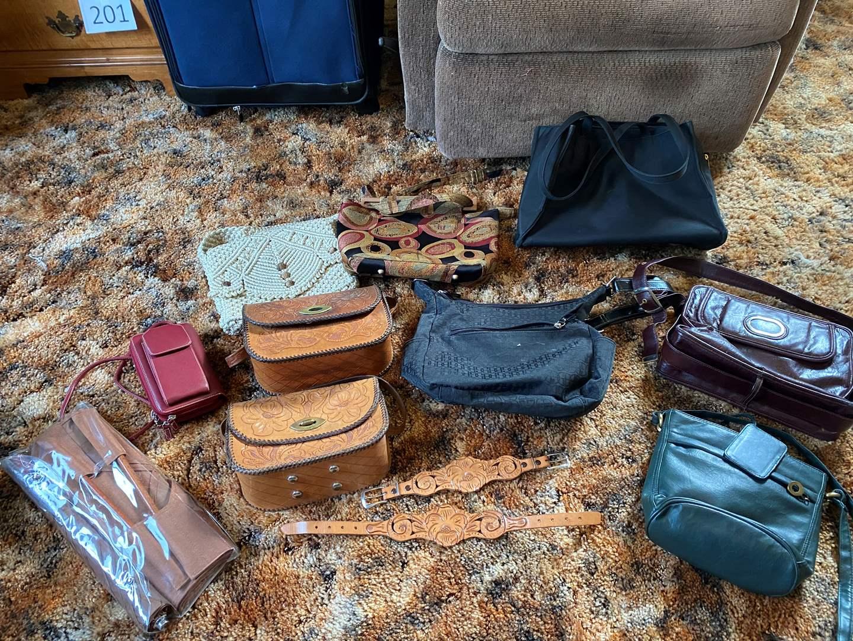 Lot # 208 - Small Collection of Purses & Handbags  (main image)