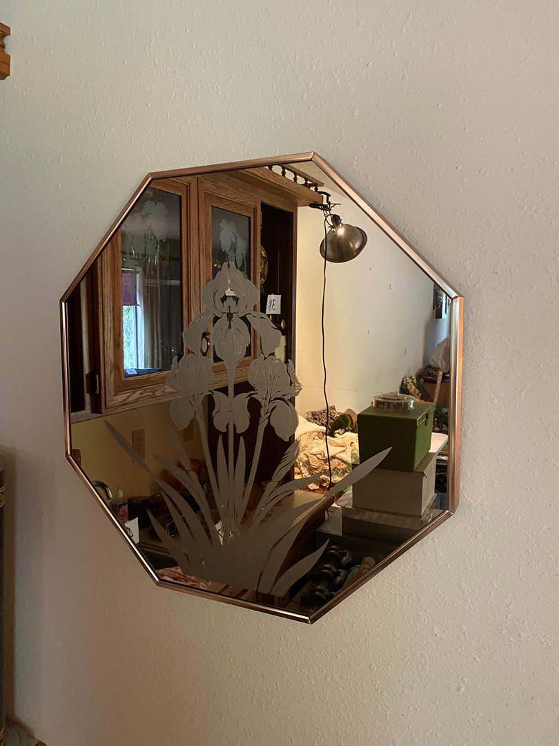 Lot # 214 - Vintage Mirror  (main image)