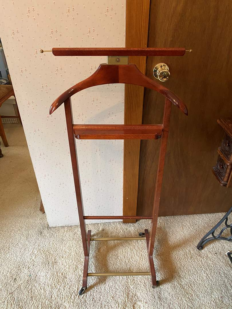 Lot # 216 - Vintage Clothes Rack  (main image)