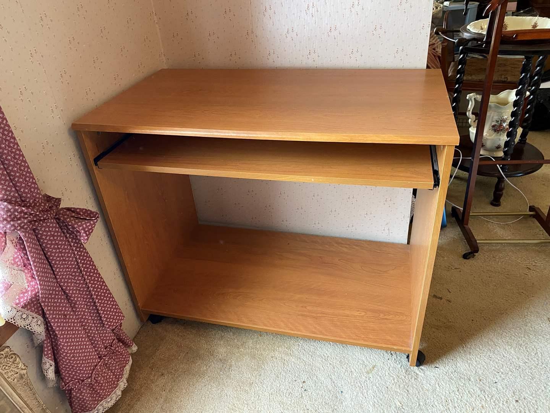 Lot # 228 - Small Wood Desk (main image)