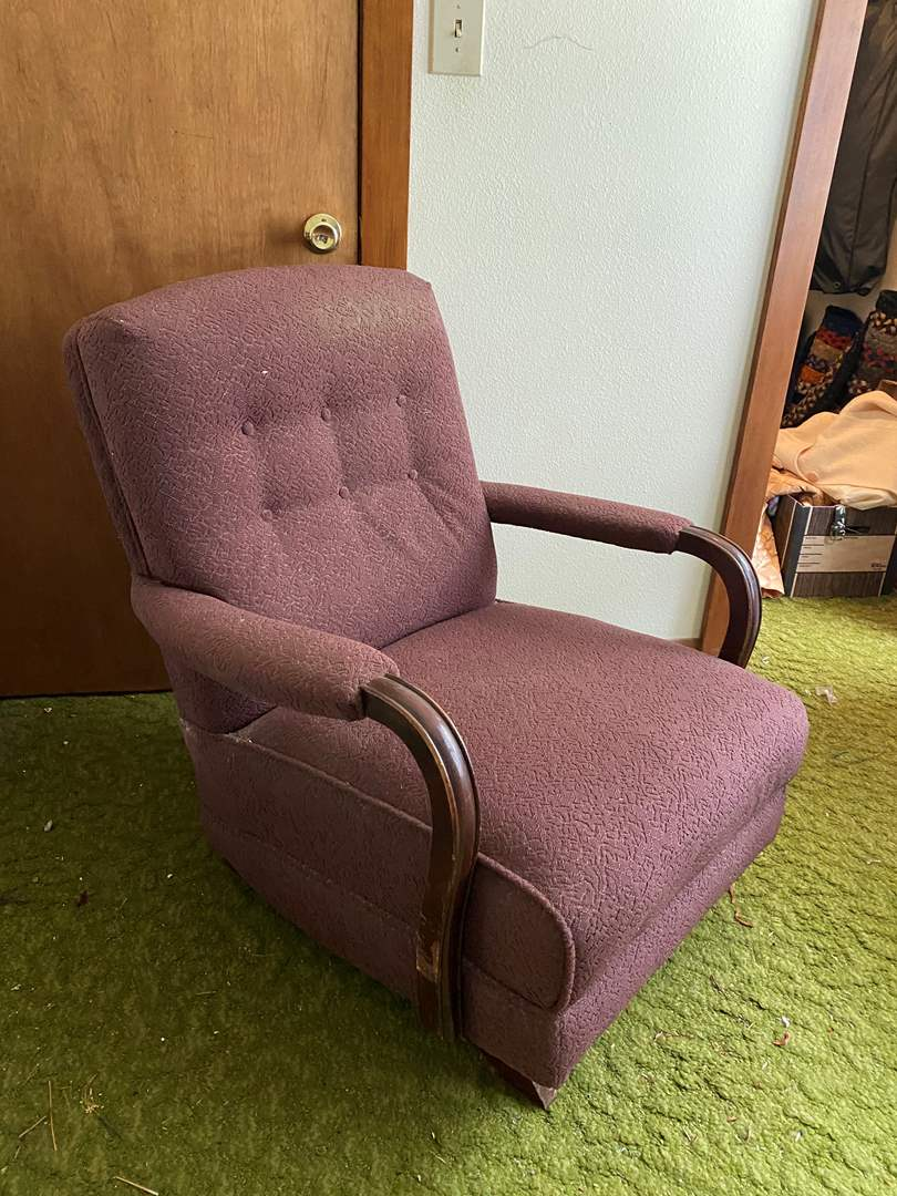 Lot # 240 - Vintage Rocking Chair  (main image)