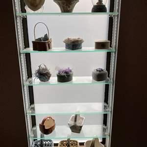 Auction Thumbnail for: Lot # 202 - Small Trinket Boxes & Knickknacks