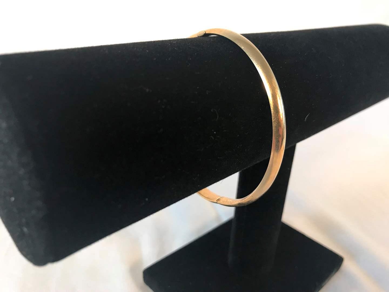 """Lot # 219 - 14k EternaGold Bracelet """"Damaged"""" - 6.33 grams (Tested). (main image)"""