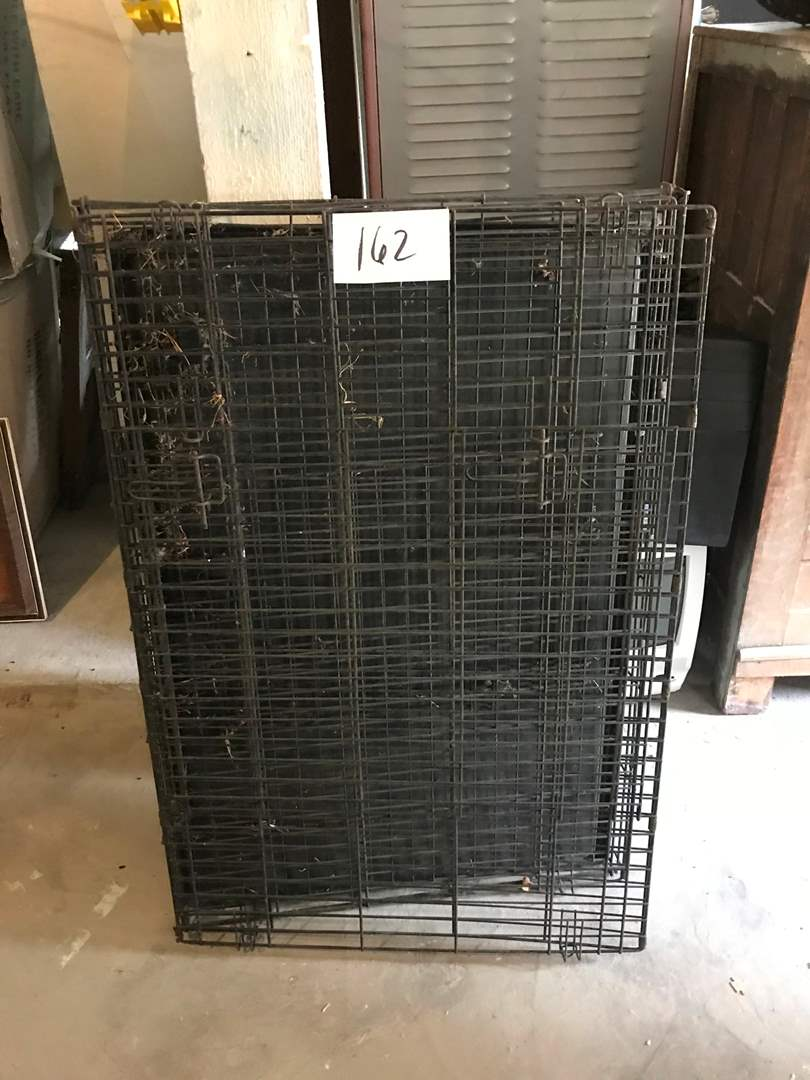 """Lot # 162 - Metal Animal Cage """"Unknown Size"""". (main image)"""