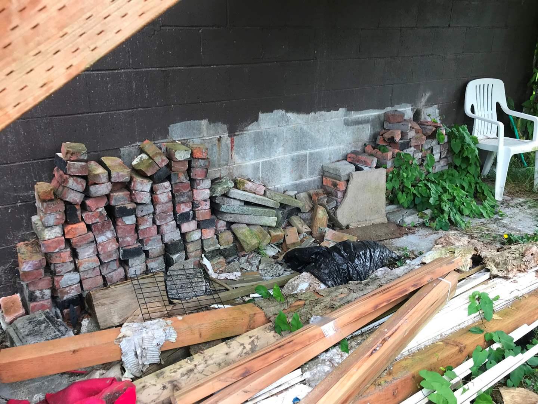 Lot # 163 - Large Stack of Bricks. (main image)