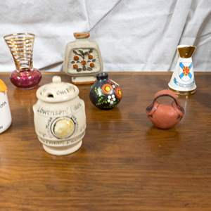 017 - Lot of Tiny Collectible Vases and Pitchers