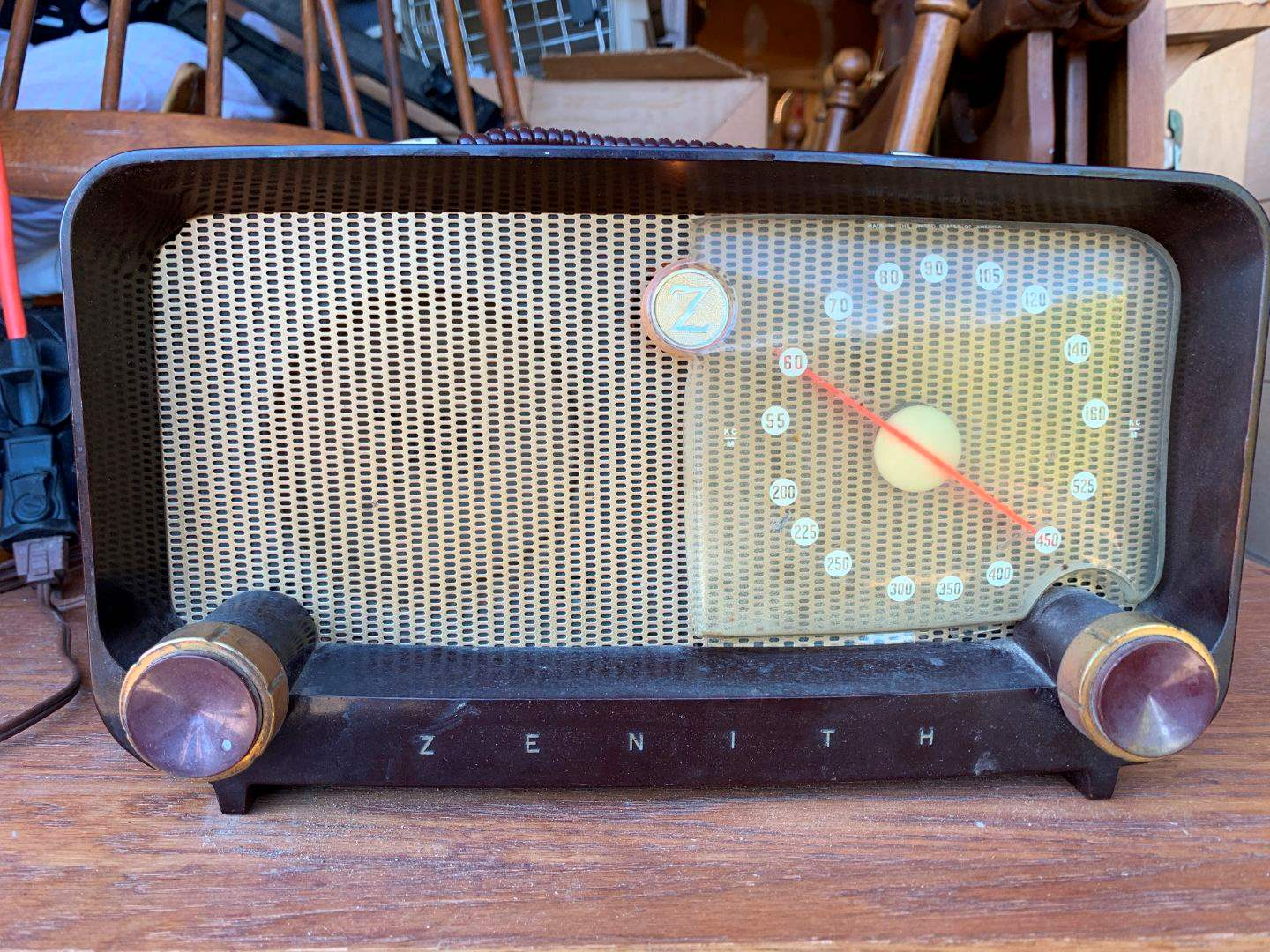 4 Zenith Long Distance Radio S-14976 (main image)