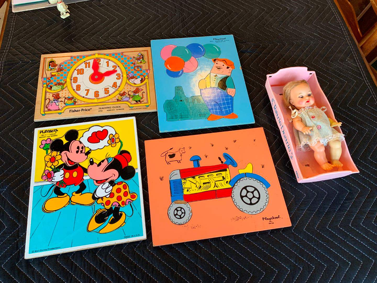 19 Vintage Playskool Puzzles and Tearie Dearie (main image)