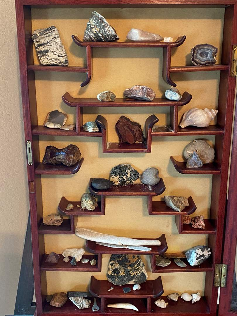 Lot # 122 Nice Rock Collection - Display Cabinet NOT Included (main image)
