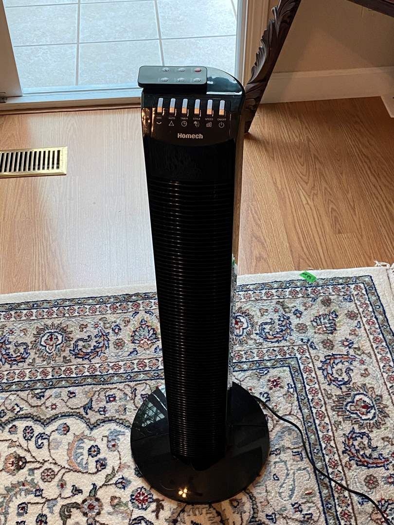 Lot # 36 Homech Rotating Fan with Remote (main image)