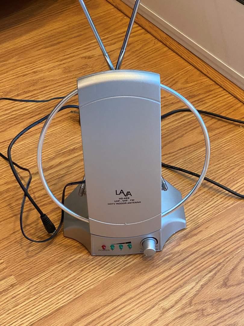 Lot # 130 Lava HD-468 HDTV Indoor Antenna Un-Tested (main image)