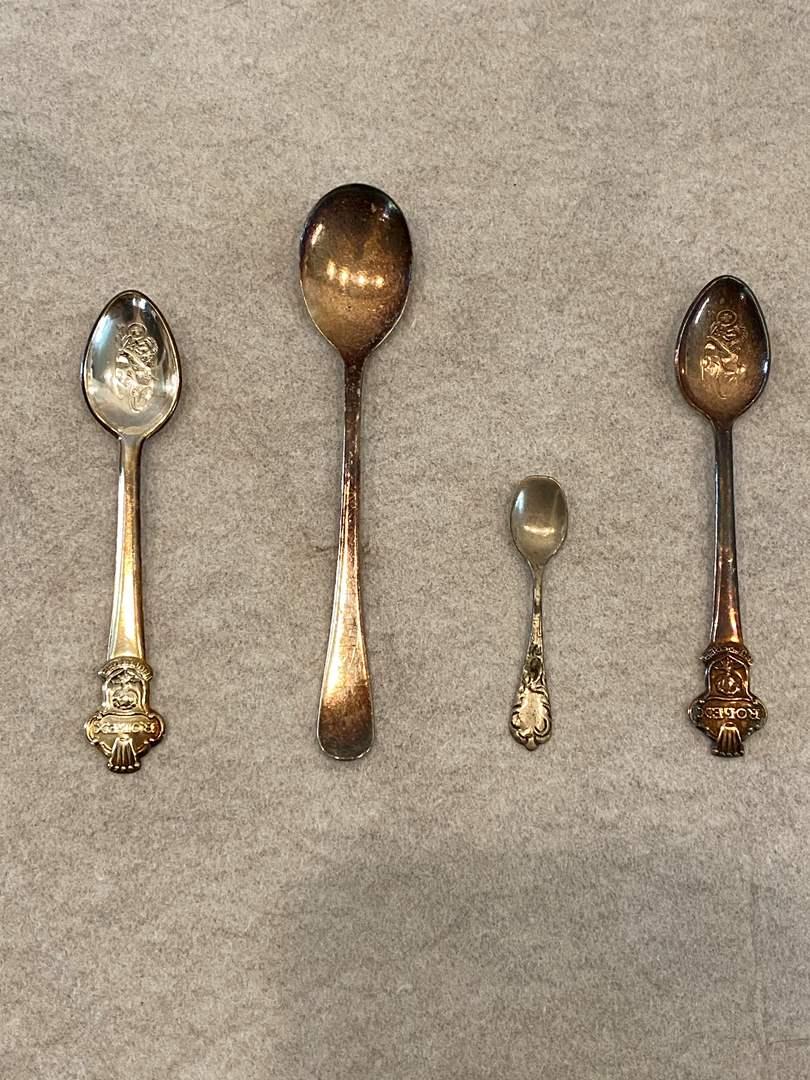 Lot # 145 Lot of Bucherer of Sweden Spoons (main image)