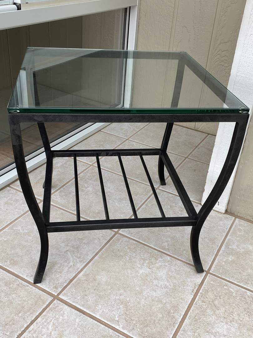 Lot # 204 Small Glass Table (main image)
