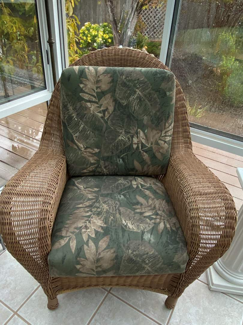 Lot # 202 Wicker Chair (main image)