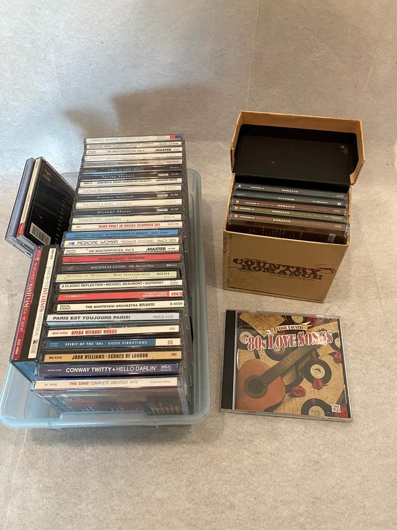 Lot # 27 Lot of CDs (main image)