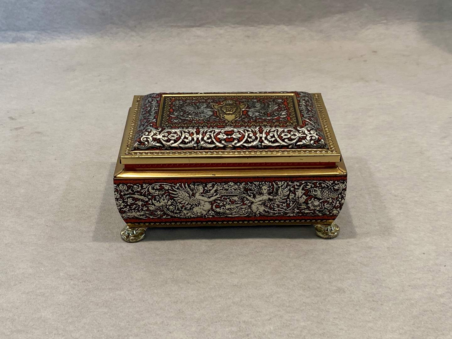Lot # 314 Blue Bird Confectionery Tin Container (main image)