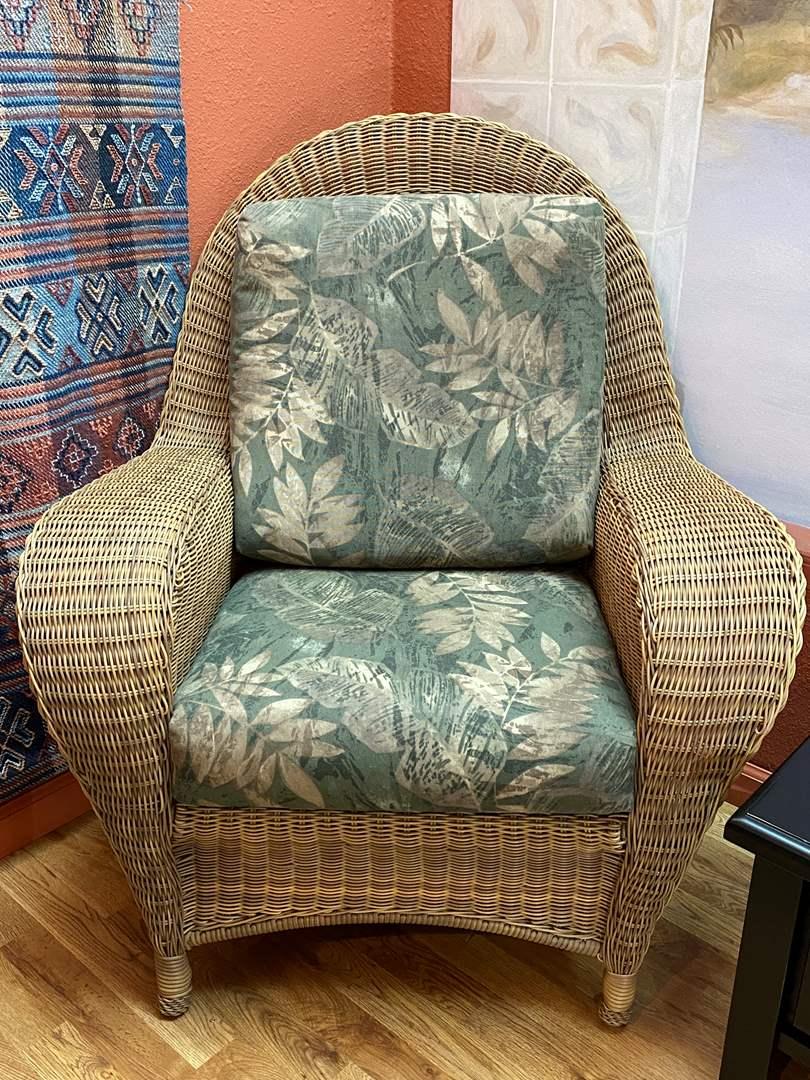 Lot # 179 Wicker Chair (main image)
