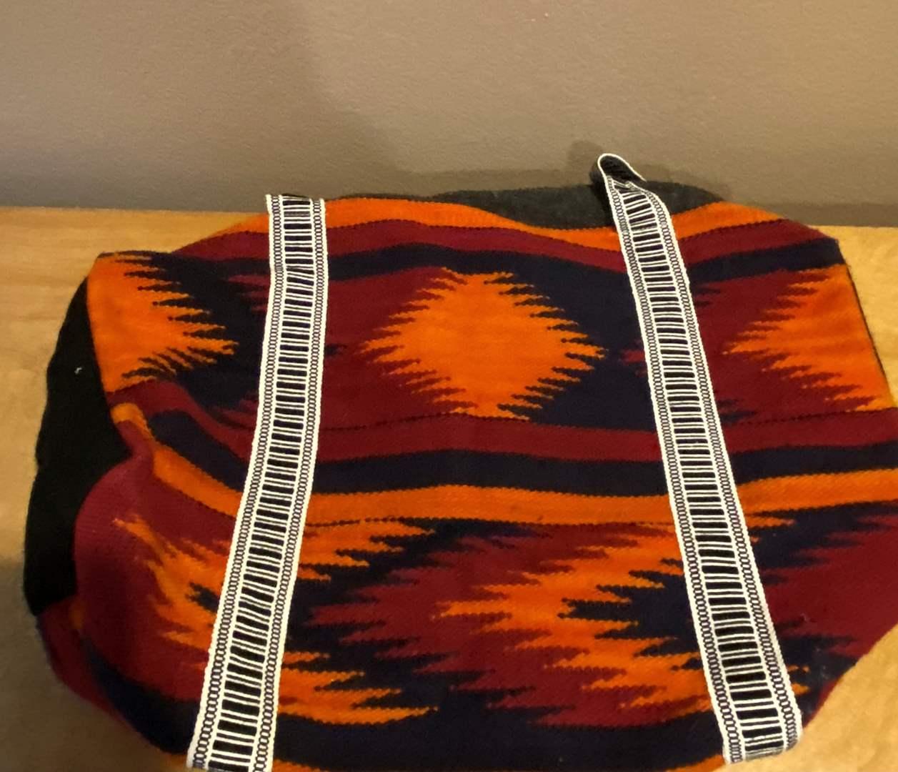 Lot # 125 Mexican Textile Bag (main image)