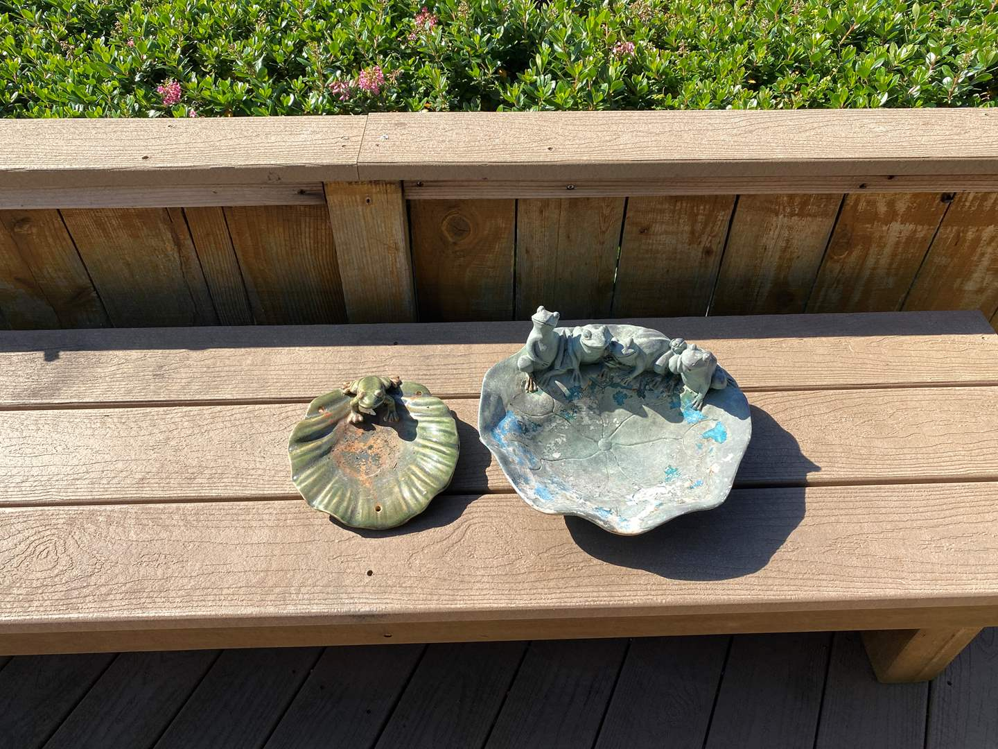 """Lot # 325 Outdoor Frog """"Ponds"""" (main image)"""