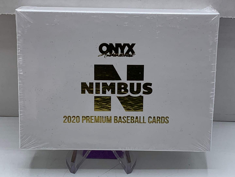 Lot # 84 Sealed Box 2020 Onyx Nimbus Premium Baseball Cards (main image)