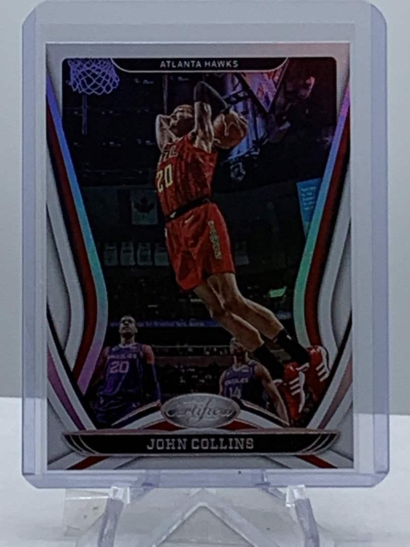 Lot # 111 2020-21 Panini Certified JOHN COLLINS Hawks (main image)