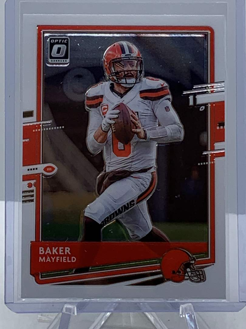 Lot # 176 2020 Panini Donruss Optic BAKER MAYFIELD Browns (main image)