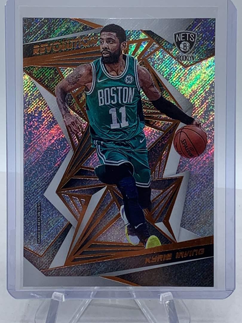 Lot # 235 2019 Panini Revolution KYRIE IRVING Celtics (main image)