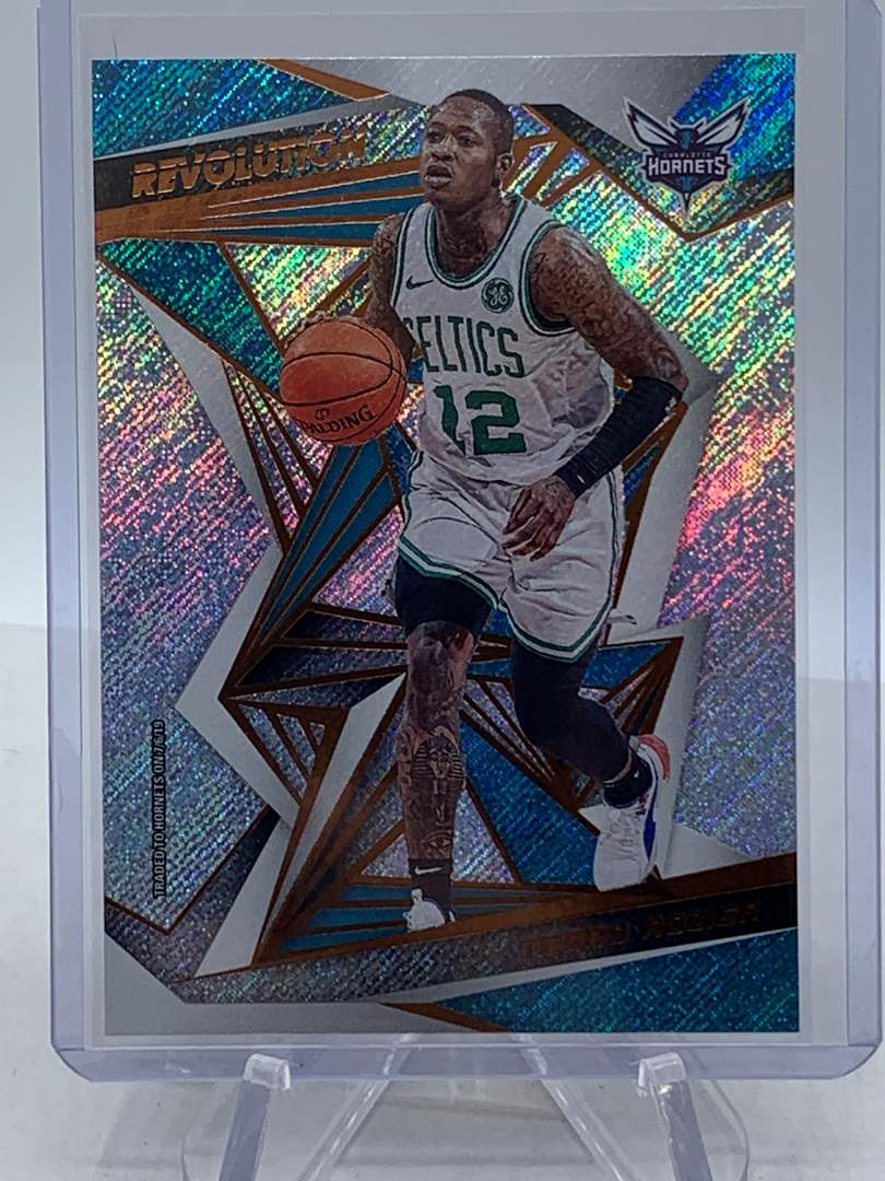 Lot # 236 2019 Panini Revolution TERRY ROZIER Hornets (main image)