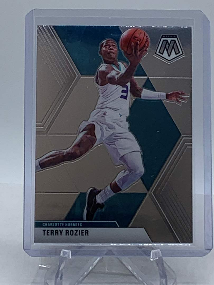 Lot # 250 2019-20 Panini Mosaic TERRY ROZIER Hornets (main image)