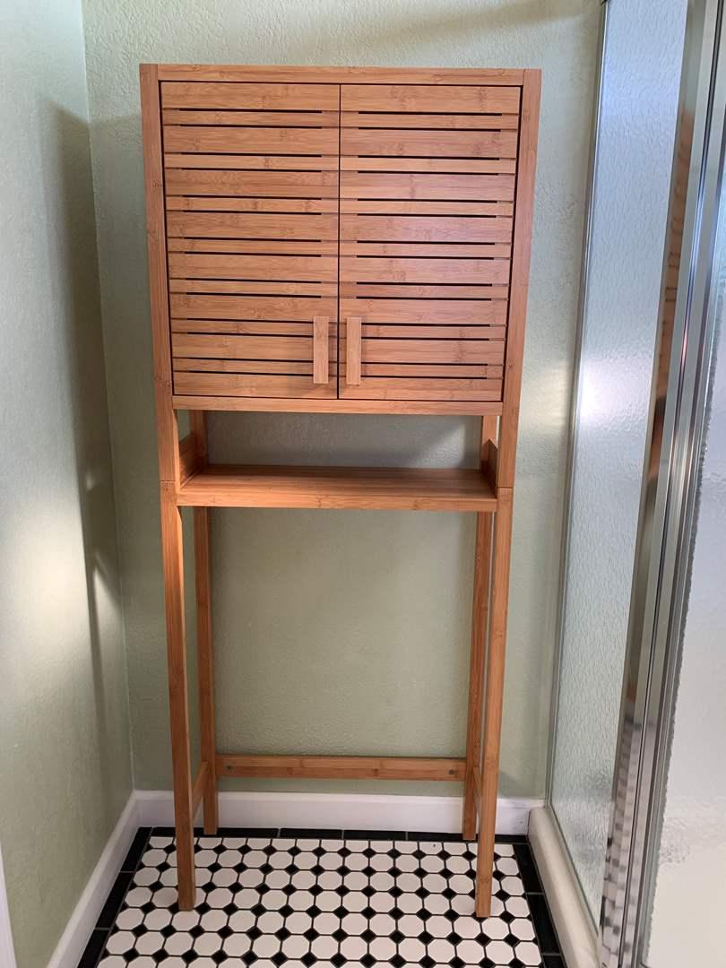 Lot # 28 Bamboo Shelving Unit* (main image)