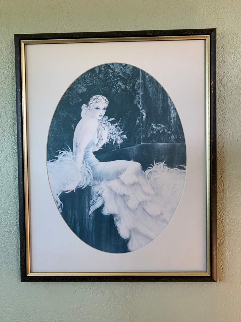 Lot # 26 Woman Framed Print (main image)