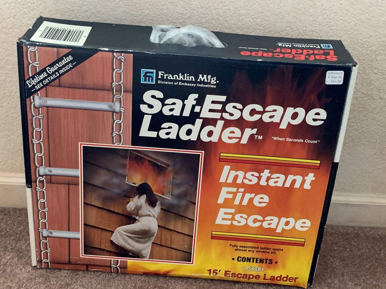 Lot # 30 Saf-Escape Ladder (main image)
