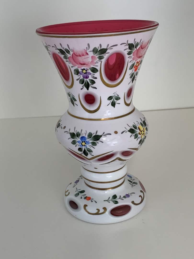 Lot # 45 Floral Vase (main image)
