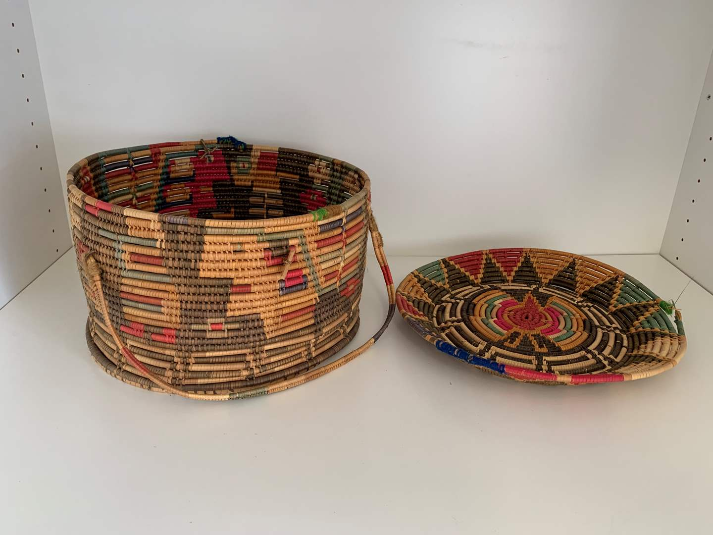 Lot # 44 Woven Basket (main image)