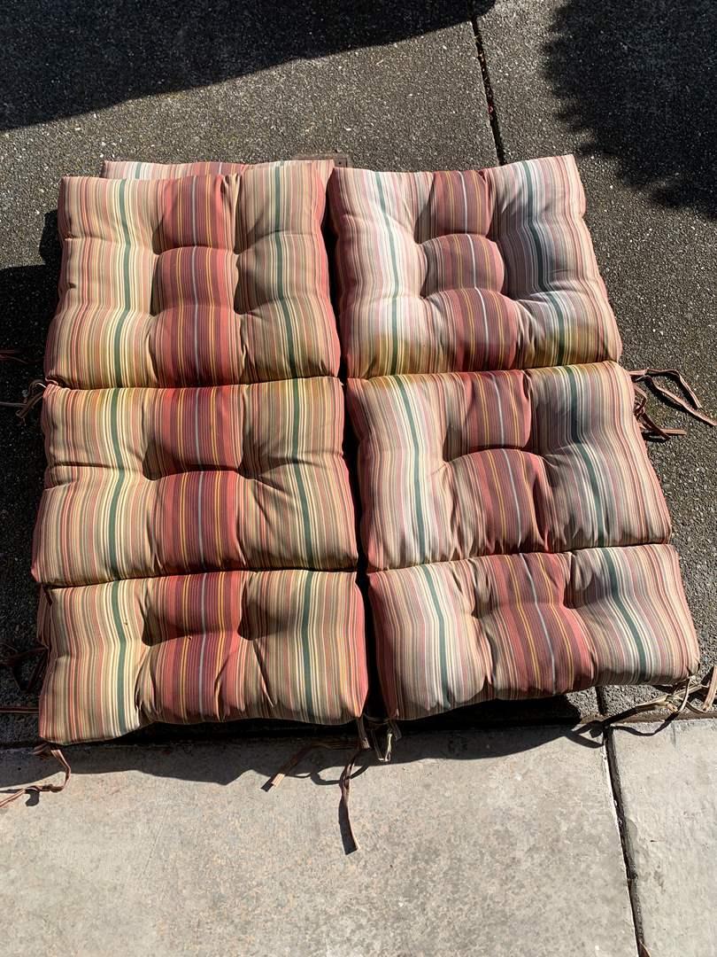 Lot # 53 Outdoor Seating Cushions  (main image)