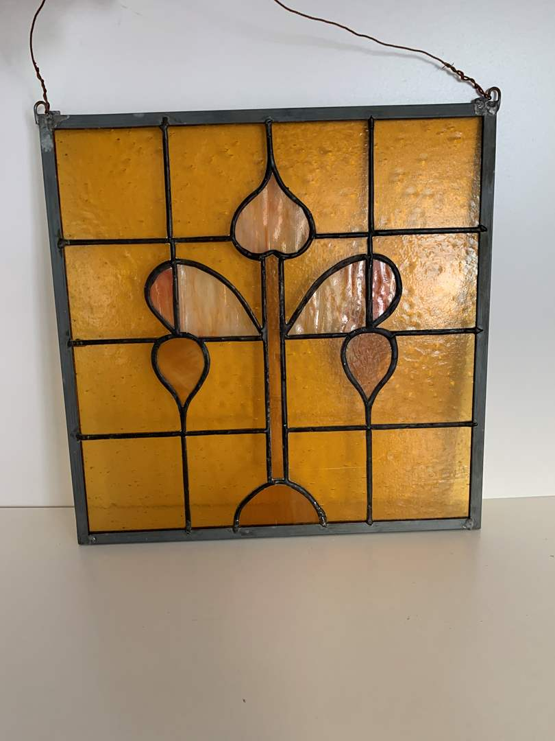 Lot # 72 Stained Glass Wall Art (main image)