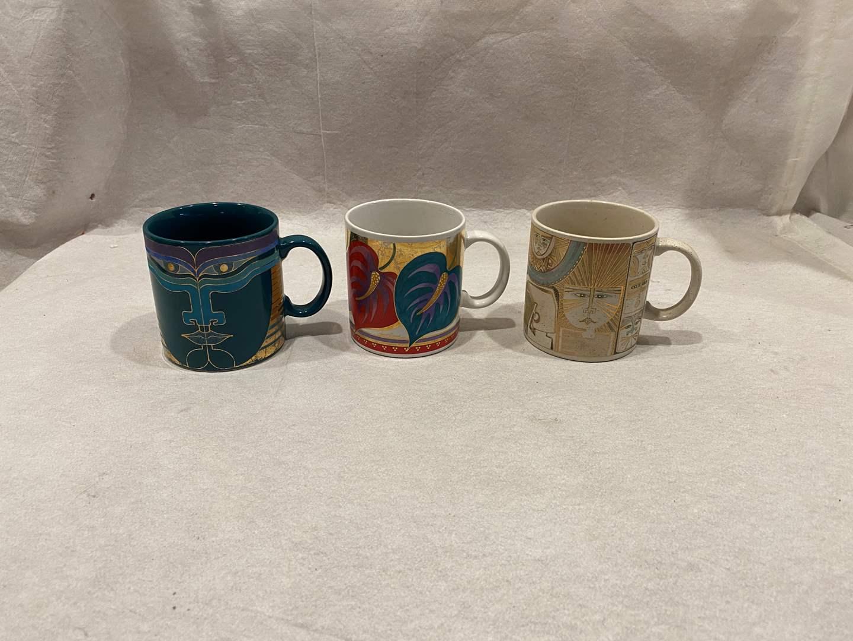 Lot # 88 Lot of Laurel Burch Mugs (main image)