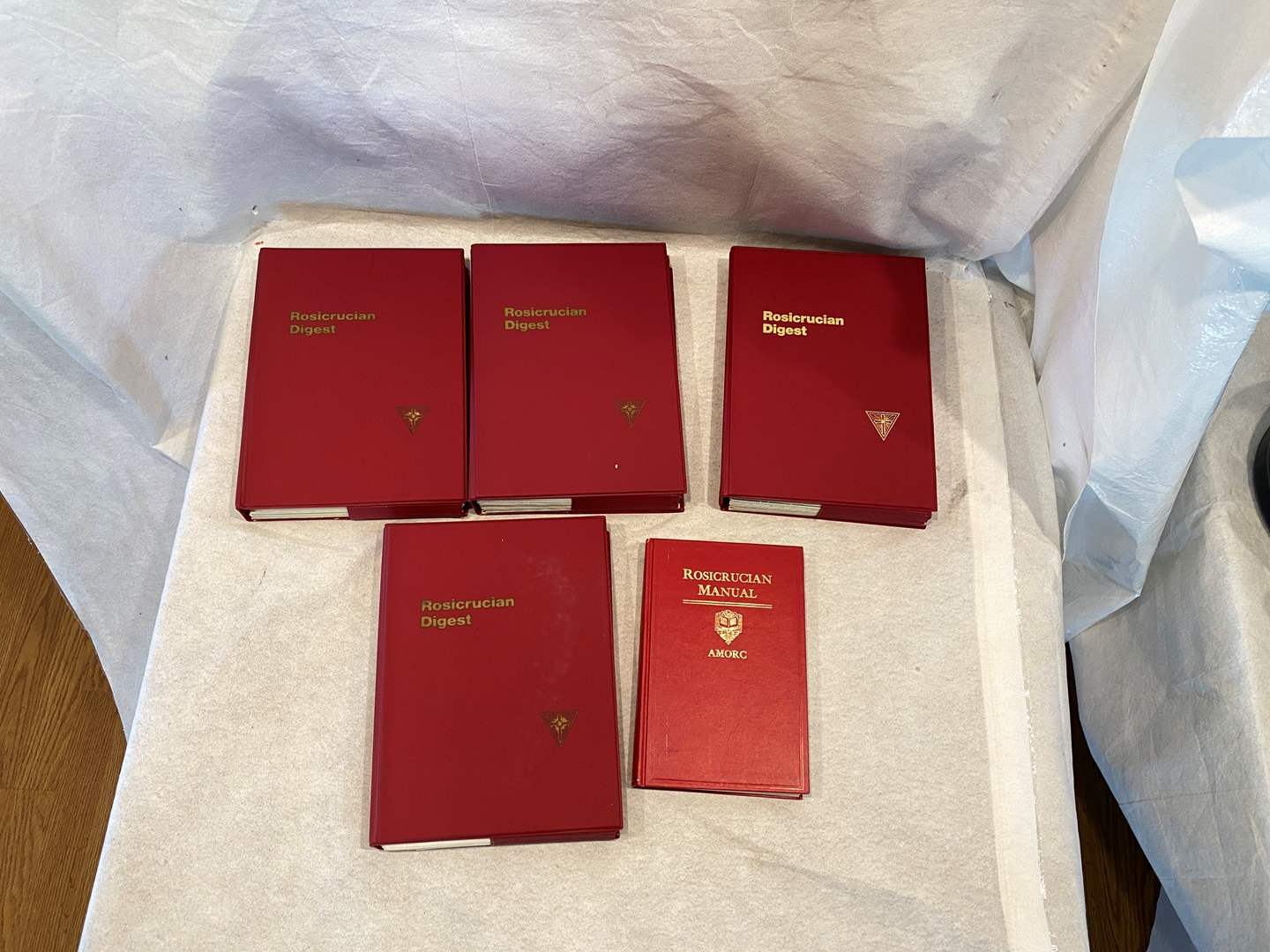 Lot # 121 Lot of Rosicrucian Books (main image)